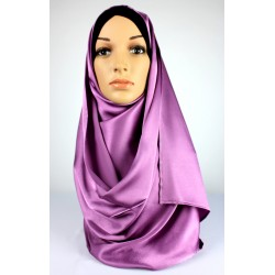 AYNA Silk Scarf in Purple