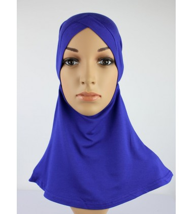 NFY Head and Neck Inner Cotton Jersey in Electric Blue