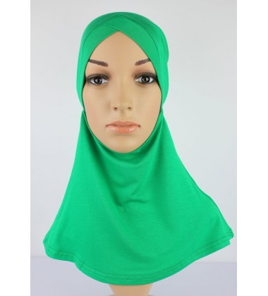 NFY Head and Neck Inner Cotton Jersey in Green
