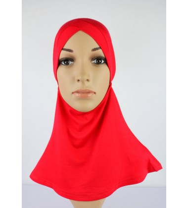 NFY Head and Neck Inner Cotton Jersey in Red