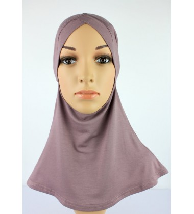 NFY Head and Neck Inner Cotton Jersey in Dusky Purple