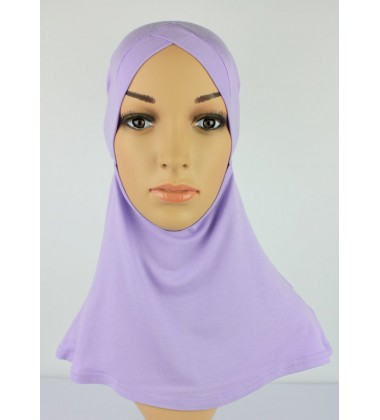 NFY Head and Neck Inner Cotton Jersey in Lilac