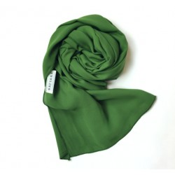 MELUR plain shawl in Green