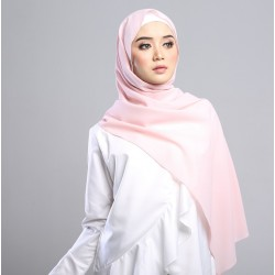 SARIMA Stretch Crepe Scarf in Misty Rose