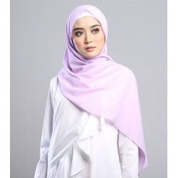 SARIMA Stretch Crepe Scarf in Lavender