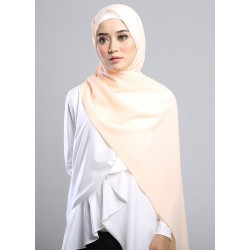 SARIMA Stretch Crepe Scarf in Subtle Peach